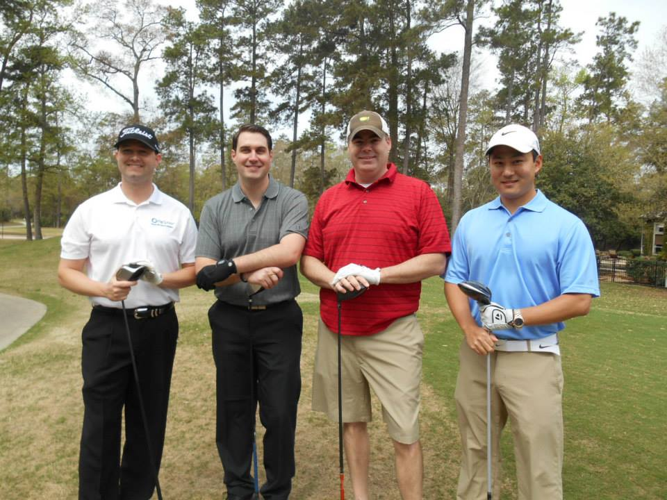 Matt Umholtz of PaySphere, Blake Absher of BBandT, Jud Miller of BBandT and Brian Albert of The Strong Firm P.C.