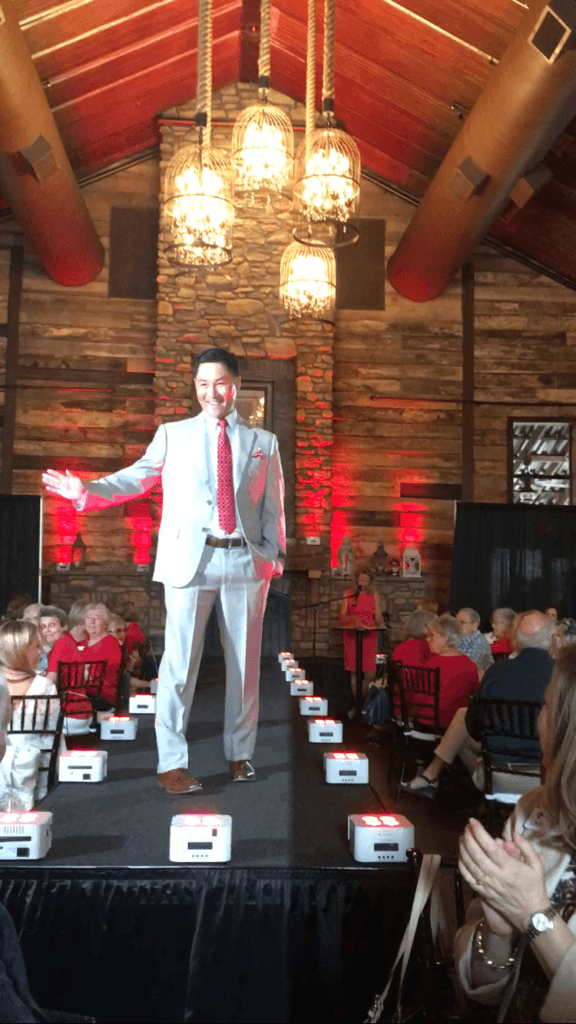 "In August, The Strong Firm P.C. attended the ""Real Men of Montgomery County Style Show"" held at Big Sky Barn benefiting Assistance League of Montgomery County and hosted by the Conroe/Lake Conroe Chamber of Commerce. We were proud to see Brian Albert step out as a fashion model!"