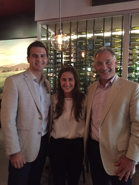 The Strong Firm PC. celebrated a farewell happy hour at Crisp in The Woodlandd to mark the end of a successful summer program with law clerk Ian Brown and law intern Alexa Vitucci, who are pictured with Bret Strong.