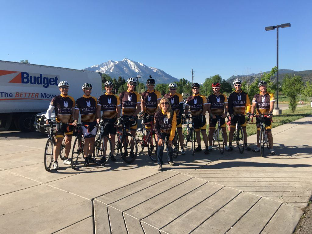 In June, Bret Strong joined 9 other cyclists to ride over 400 miles through Colorado's Rocky Mountains to support the American Cancer Society. Riding with Bret (shown third from right) on the H5 Cycling Team were Joe Schumacher, Rick Maires, Randy Keir, Josh Agnew, Chris Osborne, Dan Stoddard, Chip Brunk, Aaron Finch and Mike Michealis. The team collectively raised $22,491 for the charity!