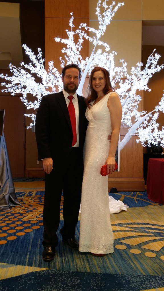 The Strong Firm sponsored and participated in The Woodlands 2015 Celebration of Excellence Gala on October 3, 2015. Shown here are Wendy Lamie and her husband John.